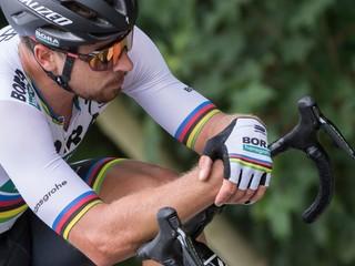 Sagan skončil druhý v desiatej etape Vuelty, oblečie sa do zeleného dresu