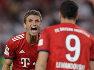 Lewandowského musíme zastúpiť, hovorí pred šlágrom Müller