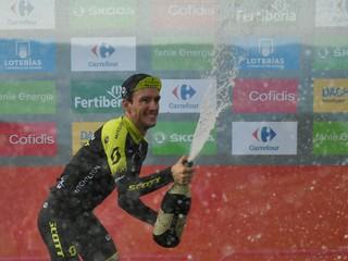 Saganovým cieľom bolo dokončiť ju. Náročnú štrnástu etapu vyhral Yates