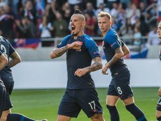 Slováci si na Tehelnom poli zahrajú proti jednému z najlepších tímov sveta