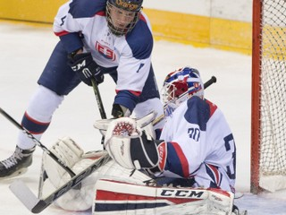 Olympijský tím si poradil so slovenskou dvadsiatkou, úspešný debut zažil ruský rodák