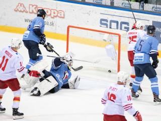 Slovan prehral posledný zápas v tomto roku, doma podľahol Jokeritu