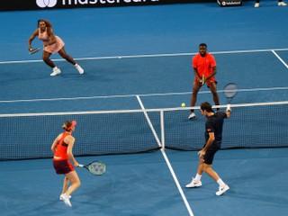 Federer a Serena si po prvý raz zahrali proti sebe. Tešil sa Švajčiar