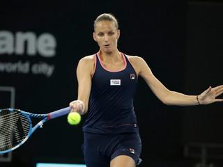 Karolína Plíšková obrátila finále v Brisbane vo svoj prospech