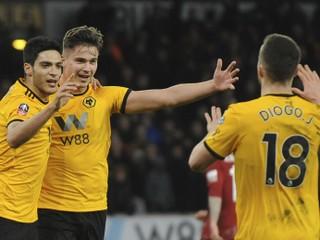 Wolverhampton v FA Cupe senzačne vyradil Liverpool