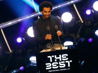 Najlepším futbalistom Afriky je opäť Salah, vyhral druhý rok za sebou