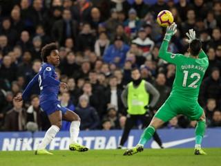 Dúbravka nezastavil Chelsea, Burnley vyhralo bez jedinej strely na bránu