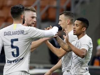 Škriniar bol pri víťazstve Interu, do štvrťfinále Talianskeho pohára postúpil aj Neapol
