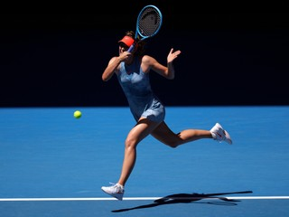 Šarapovová vstúpila do Australian Open dvomi kanármi