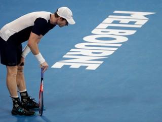 Murrayho trápi bedrový kĺb, v Melbourne odohral možno posledný zápas