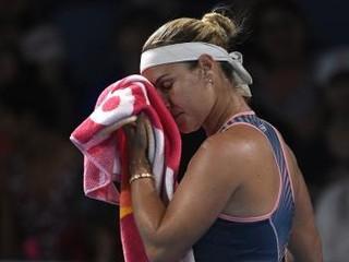 Cibulková sa odhlásila z turnaja v Petrohrade kvôli chorobe