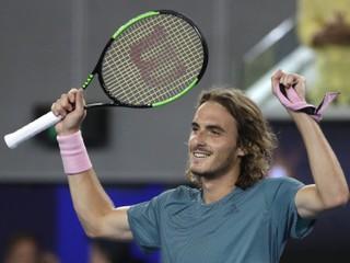 Tsitsipas sa stal prvým Grékom v semifinále, vyradil Bautistu-Aguta