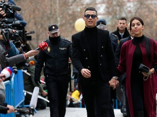 Cristiana Ronalda odsúdili za daňové úniky na 23 mesiacov podmienečne