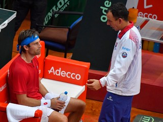 Gombos prehral, Slováci na finálový turnaj Davis Cupu nepostúpili
