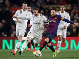 Barcelona remizovala s Realom v prvom semifinále Copa del Rey