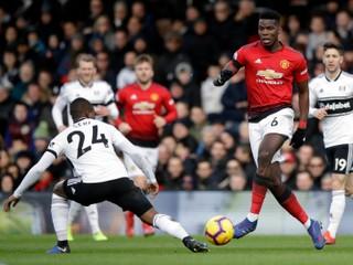 Manchester United si poradil aj s Fulhamom a natiahol víťaznú sériu