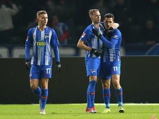 Duda prispel gólom a asistenciou k víťazstvu Herthy nad Mönchengladbachom