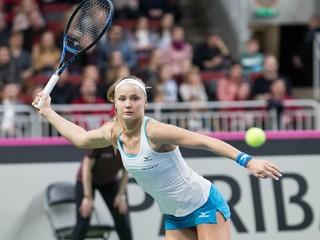 Slovenské tenistky budú hrať o záchranu, v Lotyšsku nezískali ani bod
