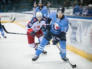 Slovan sa proti lídrovi KHL zo začiatku držal, napokon však prehral o tri góly