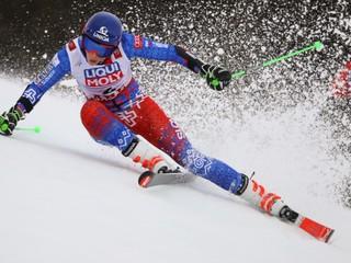 Vlhová je po úvodnom kole obrovského slalomu druhá, zdolala aj Shiffrinovú