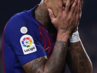 Tešiť ho mohla iba výhra. Hráčovi Barcelony počas zápasu vykradli dom