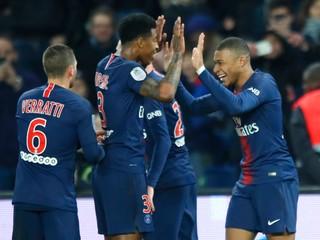 Paríž Saint Germain si hladko poradil s Dijonon vo štvrťfinále Francúzskeho pohára