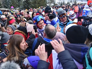 Vlhová vyhrala obrovský slalom na Európskom pohári v Jasnej
