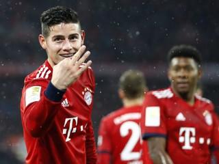 Bayern si neuplatní opciu na Jamesa Rodrigueza
