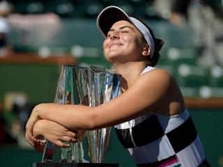 Andreescová dosiahla životný úspech, vyhrala turnaj v Indian Wells
