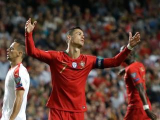 Ronaldo sa zranil, Portugalsko nezvíťazilo nad Srbskom