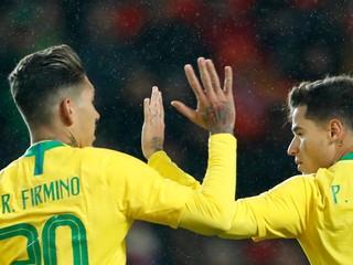 Brazília otočila v druhom polčase zápas proti Čechom