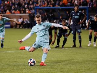 V MLS nastúpili proti sebe dvaja slovenskí futbalisti, body si podelili