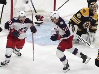 Boston nezvládol druhý zápas proti Columbusu, prehral po predĺžení