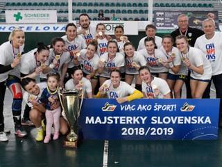 Hádzanárky Michaloviec dominantne vyhrali národné play off a získali dvanásty titul