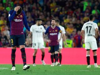 Barcelona prežíva ďalšie sklamanie, prehrala vo finále pohára
