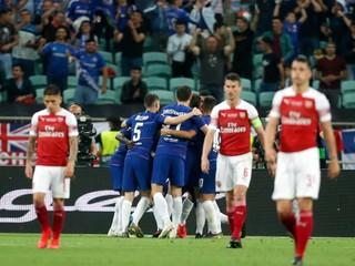 Chelsea vyhrala Európsku ligu, jednoznačne zdolala Arsenal