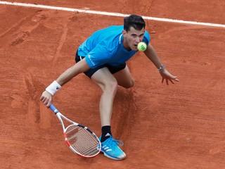 Thiem po skvelom závere zdolal Bublika a postúpil na Roland Garros do tretieho kola