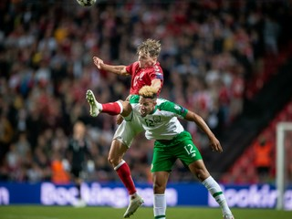 Dánsko remizovalo s Írskom, nerozhodne hrali štvrtýkrát z piatich zápasov