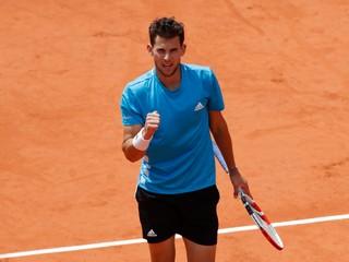 Thiem porazil Djokoviča v semifinále Roland Garros