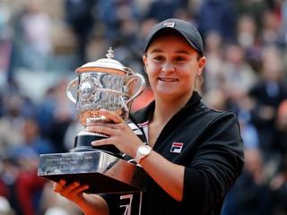 Bartyová získala na Roland Garros svoj prvý grandslamový titul