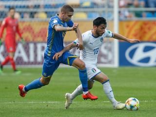 Ukrajina zdolala Taliansko a prebojovala sa do finále MS do 20 rokov
