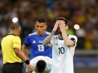 Argentína opäť nevyhrala na Copa América, postup Kolumbie