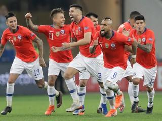 Čile v jedenástkovom rozstrele porazilo Kolumbiu a je v semifinále Copa América