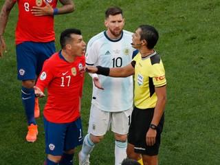 Argentína získala bronz na Copa Amerika, Messi dostal červenú kartu