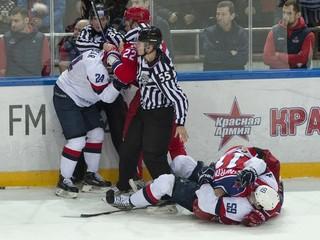 Váľanie sa po ľade nie je play off, kritizoval po zápase hráčov CSKA Říha