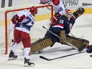 Slovan prehral gólom z poslednej minúty, v sérii vedie CSKA už 3:0