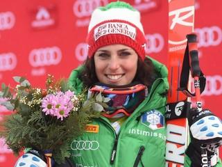 Super-G v Andorre vyhrala Brignoneová, Vonnová skončila v nemocnici