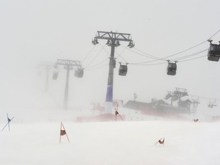 Obrovský slalom v Jasnej zrušili, slalom by nemal byť ohrozený
