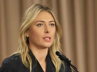 Šarapovová neprešla na Australian Open dopingovou kontrolou