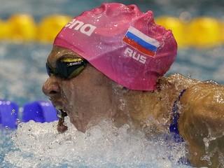 Ruská plavkyňa dostala štvorročný trest za doping
